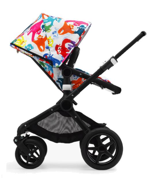 עגלת תינוק בוגבו פוקס בעיצוב בס קוסטרס