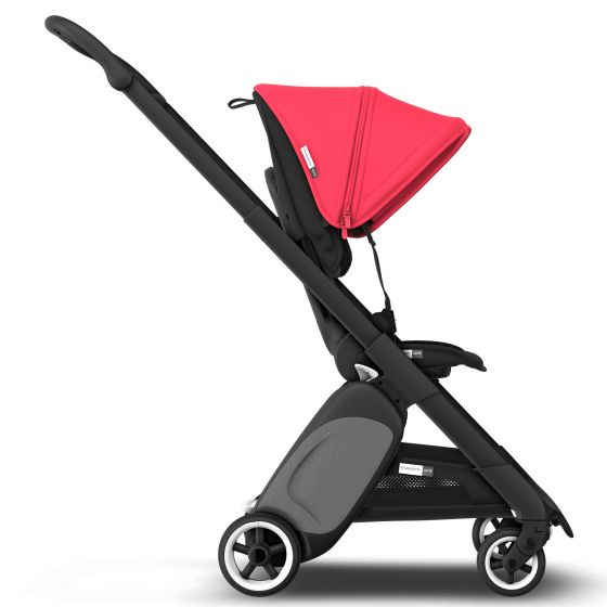 טיולון בוגבו ANT צבע מרכב: שחור, סטייל סט: אדום ניאון